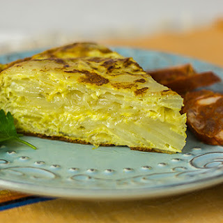 Tortilla Espanola (Spanish Potato Pie).