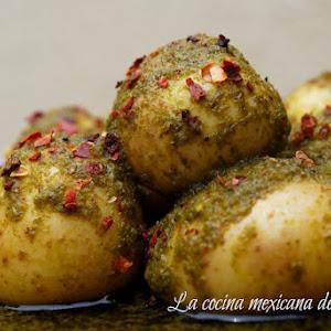 Cambray Potatoes with Cilantro