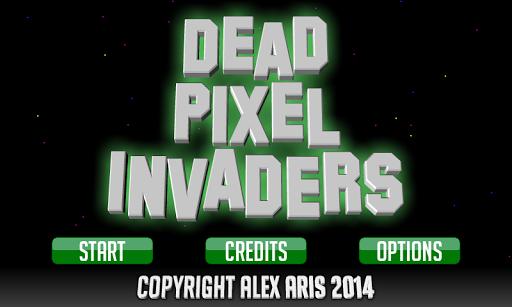 Dead Pixel Invaders