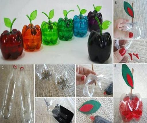 DIY 工藝品塑膠瓶