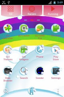 Teddy Bear - GO Launcher Theme- screenshot thumbnail