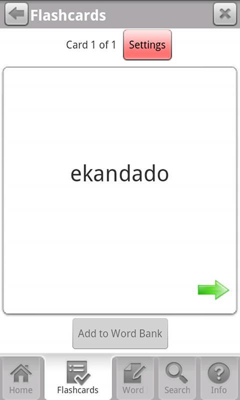 Learn Filipino Free WordPower- screenshot