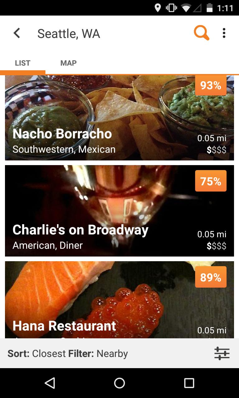Urbanspoon Restaurant Reviews screenshot #4