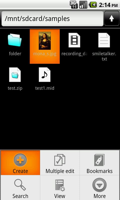 NeoFiler Free- screenshot