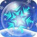 Bubbly Snowflake LiveWallpaper icon