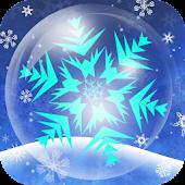 Bubbly Snowflake LiveWallpaper
