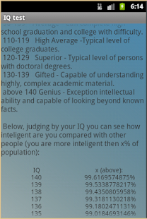 Accurate IQ test - screenshot thumbnail