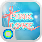 Pink Love Hola Launcher Theme