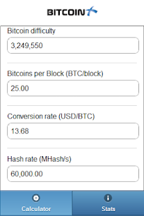 Btx Calculator - screenshot thumbnail