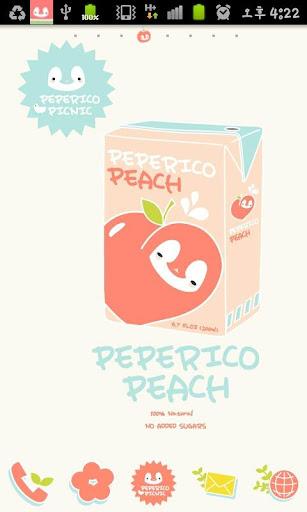 Pepe-picnic Go launcher theme