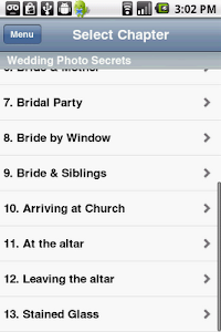 Wedding Photo Secrets screenshot 3