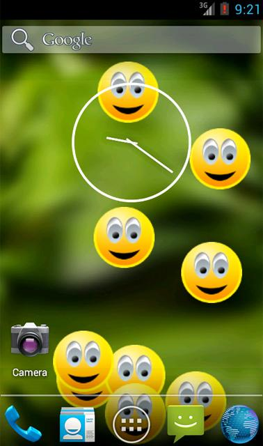 Smiley Face Live Wallpaper - screenshot