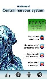 Anatomy Star - CNS (the Brain) Screenshot 1