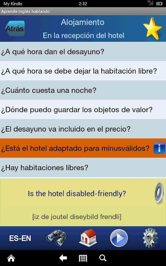 Aprende Inglés  hablando- screenshot
