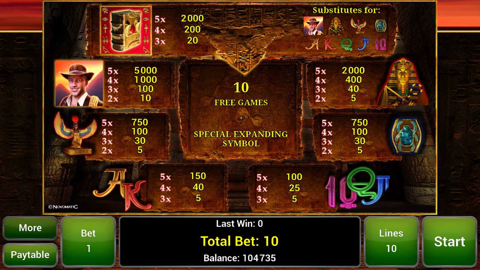 book of ra casino app