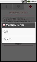Screenshot of Medic SOS Pro