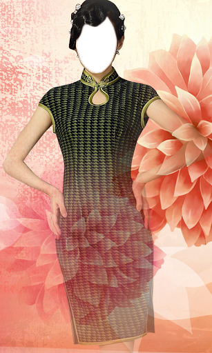 Dress in Chinese Photo Montage