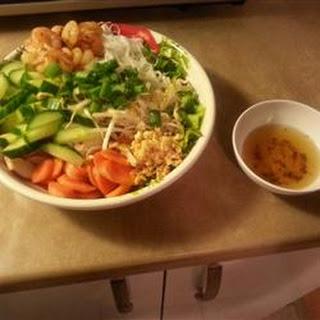 Fresh Vietnamese Vermicelli Bowl