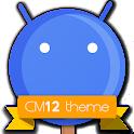 CM12 Blue Pop Theme APK Cracked Download