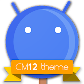 CM12 Blue Pop Theme