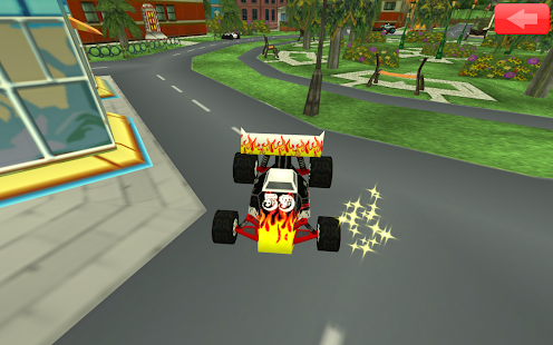 Animated Toddler Puzzles: Cars - screenshot thumbnail