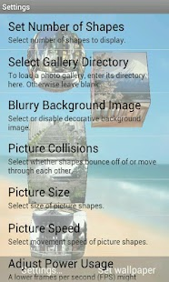 3D Pictures Live Wallpaper - screenshot thumbnail