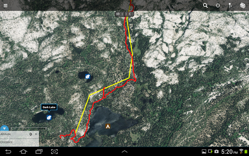Gaia GPS: Topo Maps and Trails app (apk) free download for Android/PC/Windows screenshot