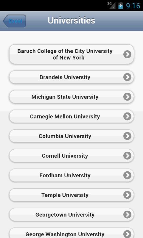 The MBA Tour- screenshot