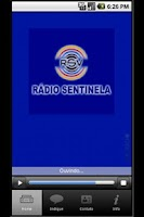 Screenshot of SENTINELA AM/1460 KHZ