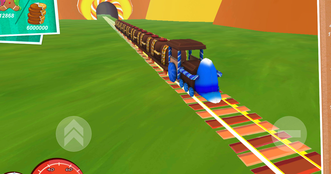 Candy World Train Adventure 3D - screenshot