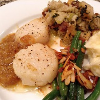 Scallops with White Wine Sauce II.