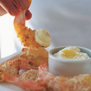 Oven-Fried Shrimp with Aioli