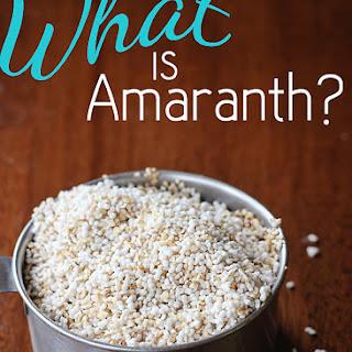 Popped Amaranth Protein Balls.
