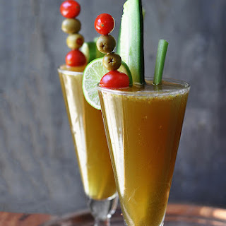 Cucumber Blonde Bloody Mary