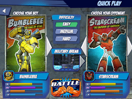 Screenshot of Transformers: Battle Masters