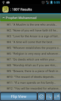 Screenshot of Islamic Quotes and Sayings App