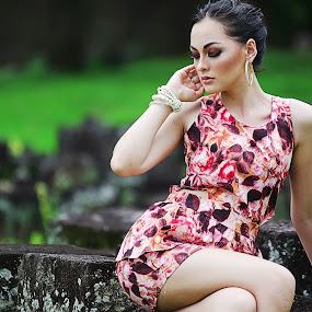 Jolene Maria by Jiboy Mandey - People Fashion ( model, yogyakarta, indonesia, d7000, jiboy, artist, nikon )