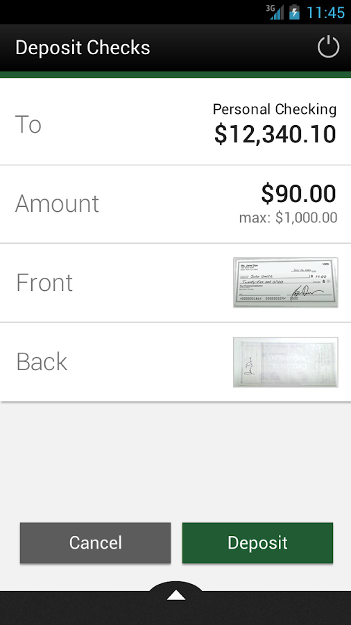 FBFCU Mobile Banking - screenshot