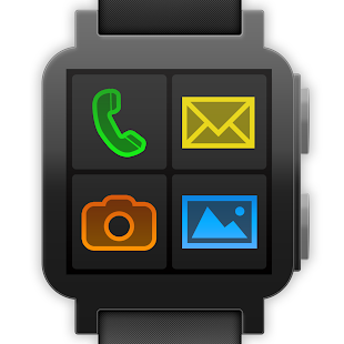 BIG Launcher Wearable- screenshot thumbnail