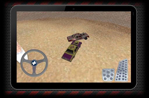 瘋狂的汽車比賽對決模擬器