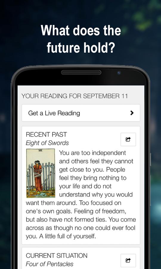 Horoscopes & Tarot - screenshot