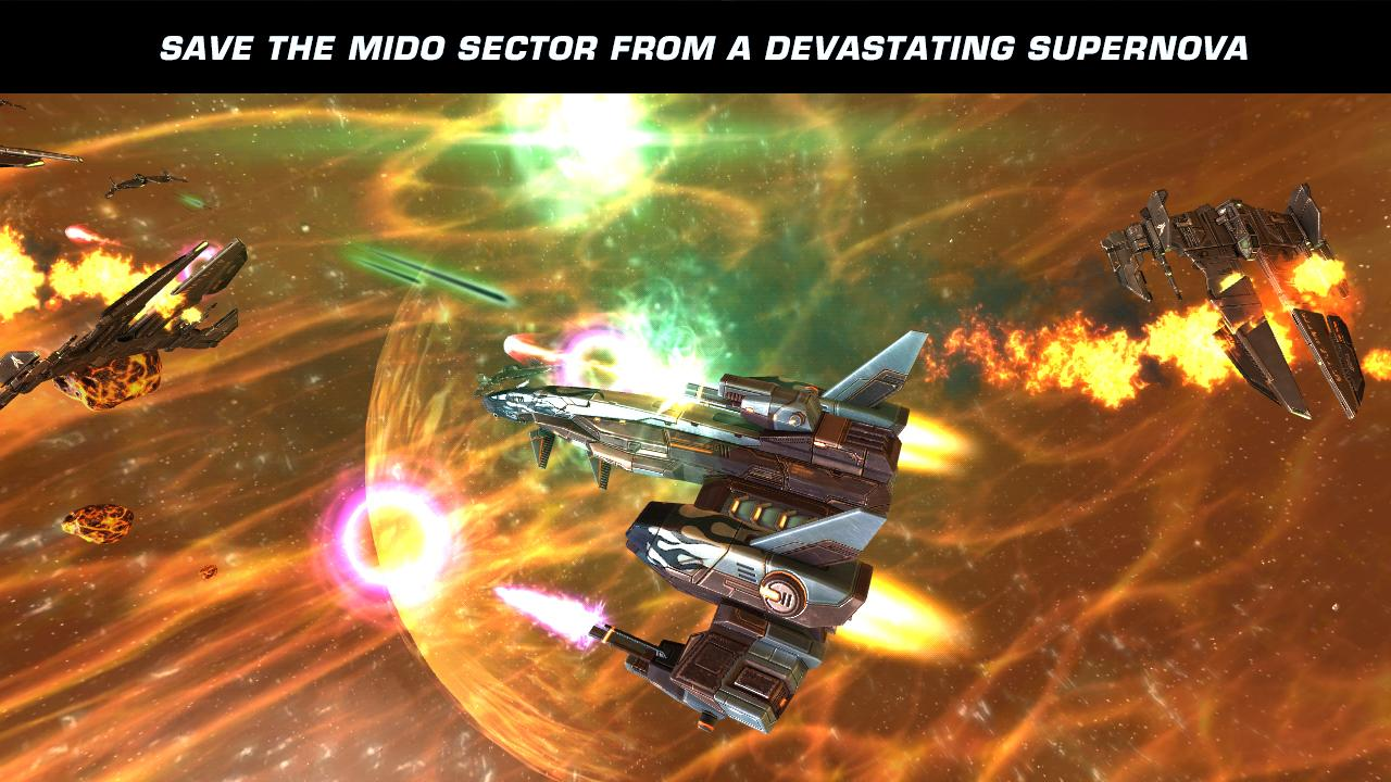 Galaxy on Fire 2™ HD - screenshot