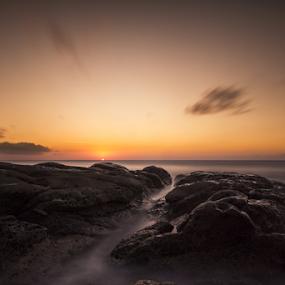 untitled by Rob De Eduardo - Landscapes Sunsets & Sunrises ( sunset, sea, beach, landscape, rocks )