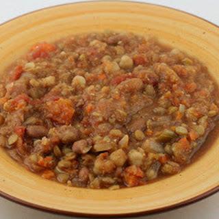 Moroccan Lentil Soup CrockPot.