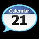 Talking Calendar Reminder app icon