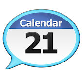 Talking Calendar Reminder app