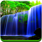 3D Waterfall Wallpaper Galaxy