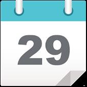 Calendar Monthly Modern Style