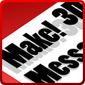 Make! 3D Message icon