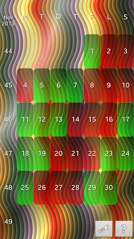Work Shift Calendar Deluxe Screenshot